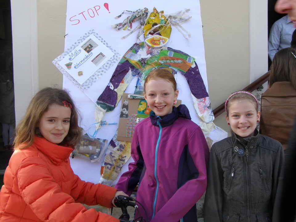 children being eco-conscious